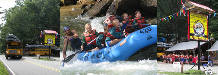 Nantahala River Rafting with Paddle Inn Rafting